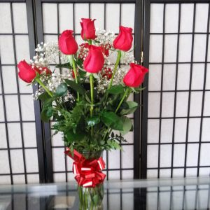 Dozen Medium Red Roses