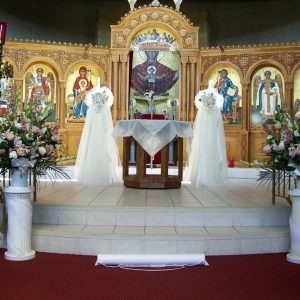 Wedding Altar Flowers